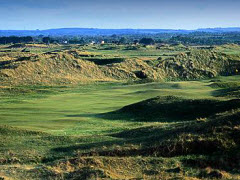 "County Louth Golf Club ""Baltray"" on the Irish Sea north of Dublin"