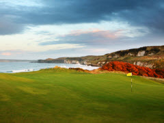 Royal Portrush Golf Club, #2 in Northern Ireland on the North Irish Sea.