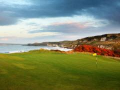 Royal Portrush Golf Club, #2 in Northern Ireland on the North Irish Sea.